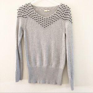 Anthropologie Yellow Bird Pullover Sweater size M